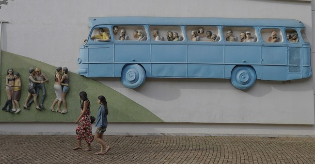 Art and nature intertwined at massive Brazilian park
