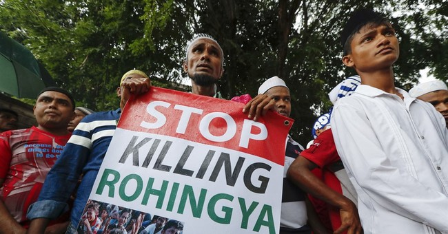 Thousands in Asia protest persecution of Myanmar's Rohingya
