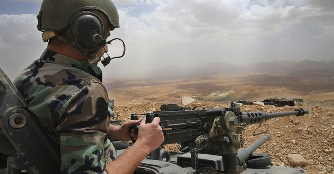 Lebanon army says 11 IS militants detained near Syria border