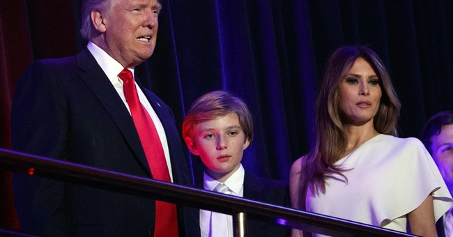 For now, Melania Trump plans to be long-distance first lady