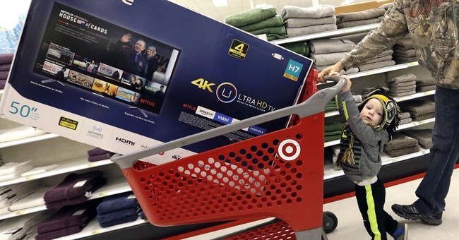 The Latest: online, in malls and overseas, Black Friday's on
