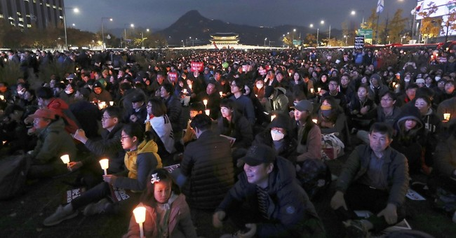 Counting 1 million crowds at anti-president rally in Seoul