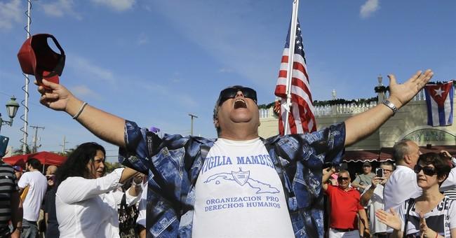 Miami's joyous Cubans hope for change with Castro's death