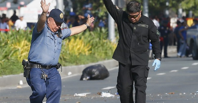 Manila police safely detonate suspected bomb near US Embassy