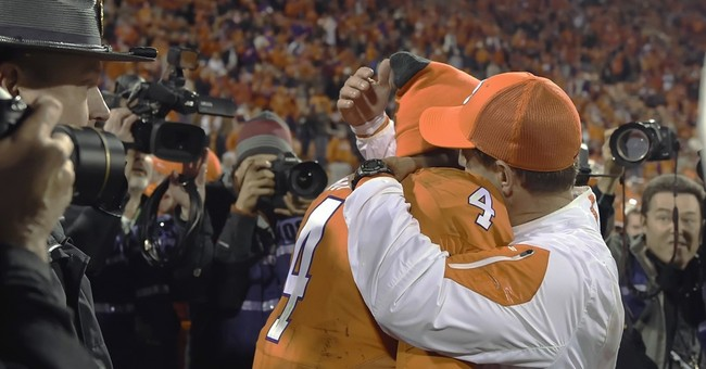Clemson's Swinney says his players deny using racial slur