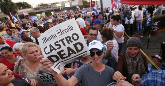 Miami Cuban celebration turns to reflection on Castro death