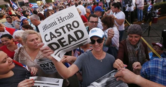 Miami Cuban celebration turns to reflection on Castro death