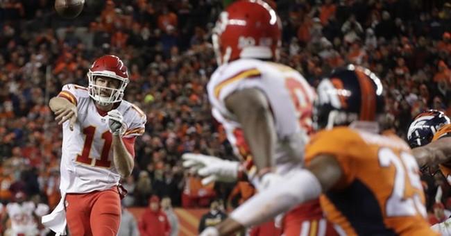 The Latest: Broncos, Chiefs exchange field goals in OT