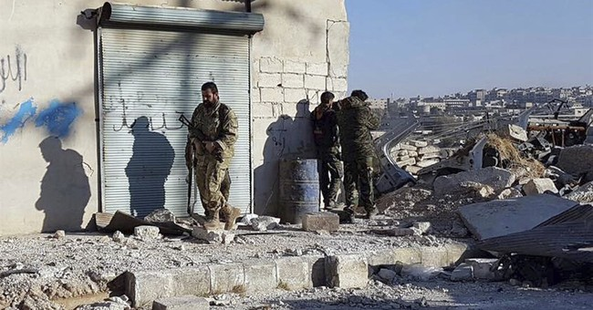 Rebels' hold on eastern Aleppo collapses as troops move in