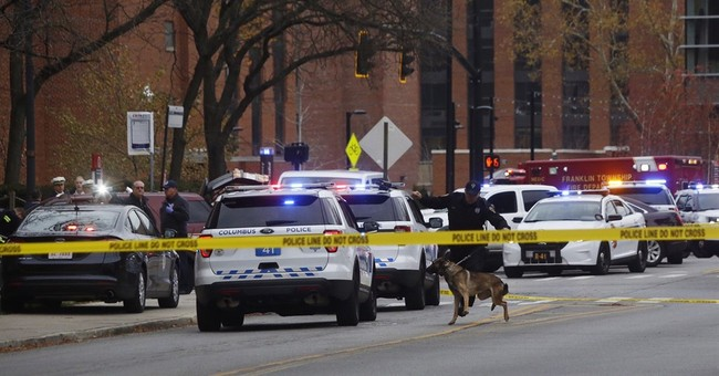 Terrorism suspected in car-and-knife attack at Ohio State