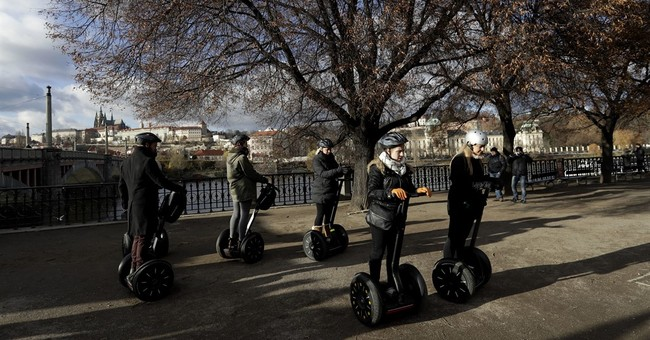 Now scoot: Parts of Prague soon to become Segway-free zones