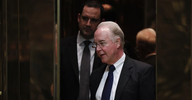 Trump to nominate Georgia Rep. Tom Price as health secretary