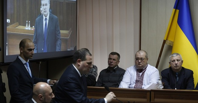 Ukraine's ousted president testifies in court