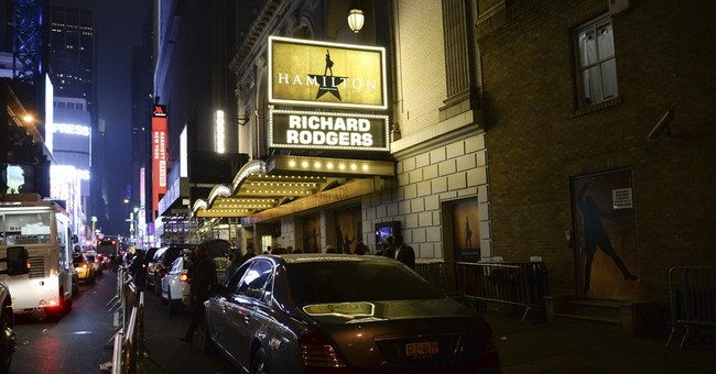 Woman accused of stealing from 'Hamilton' theatergoers