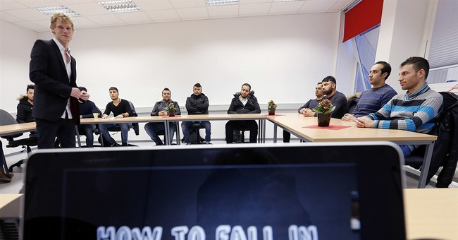 Germany's 'Mr Flirt' teaches refugees how to pick up women