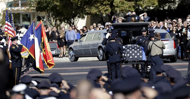Slain San Antonio officer remembered at funeral service