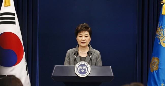 Transcript of South Korean President Park Geun-hye's speech