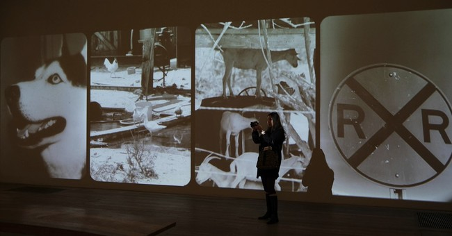 Goat, bed among works in major Robert Rauschenberg show