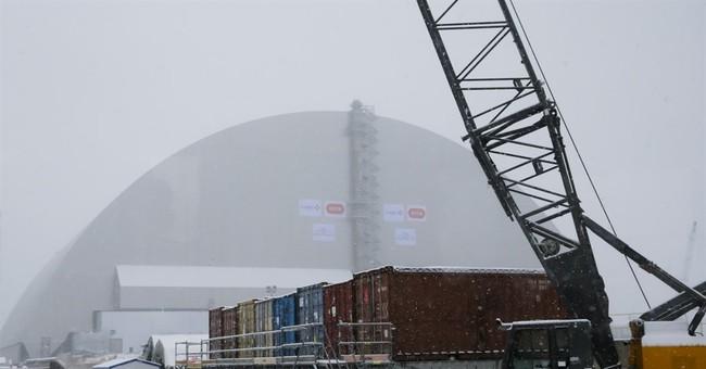 Massive Chernobyl shelter safely put over exploded reactor