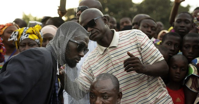 Gambia's president warns against protests after elections