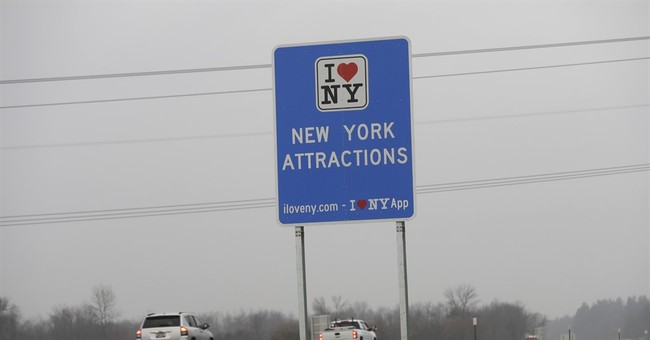 Feds show no 'Love' for New York roadway signs