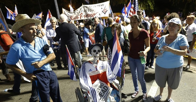 Miami exiles rally for Cuba freedom after Castro death