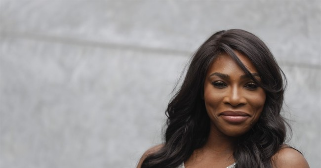 Serena Williams: Women 'must continue to dream big'