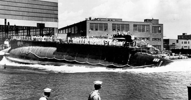 Navy to scatter vet's ashes near site of 1963 sub sinking