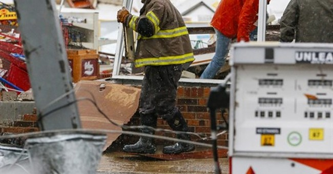 The Latest: Officials: At least 4 tornadoes hit Mississippi