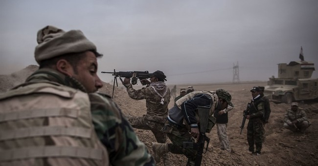 Iraq's special forces control 19 Mosul neighborhoods