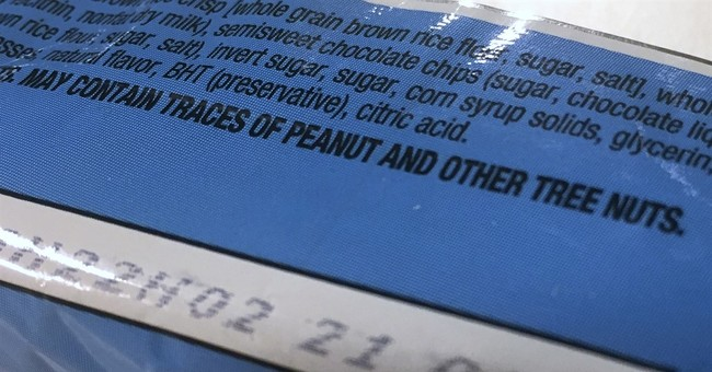 Science panel urges rewrite of food allergy warning labels