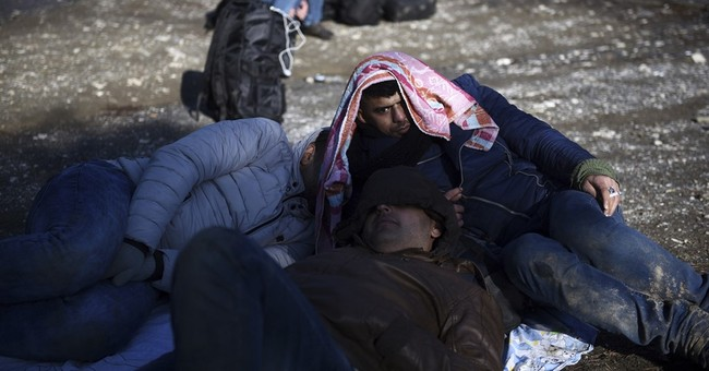 The Latest: Hungarian court sentences Syrian in migrant riot