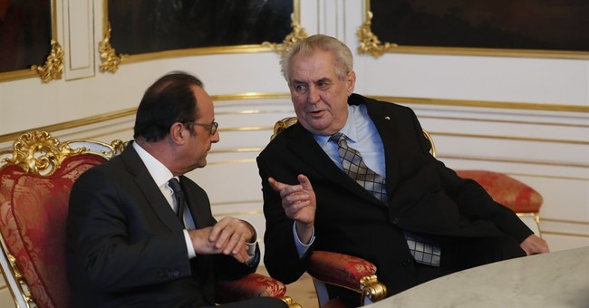 French president says Czech help vital in anti-terror fight