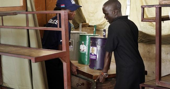 Gambia ruler predicts landslide; internet blocked amid vote