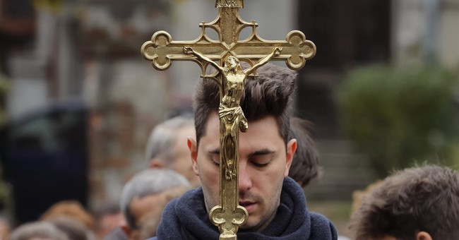 AP PHOTOS: Saint festival shows Orthodox strength in Romania