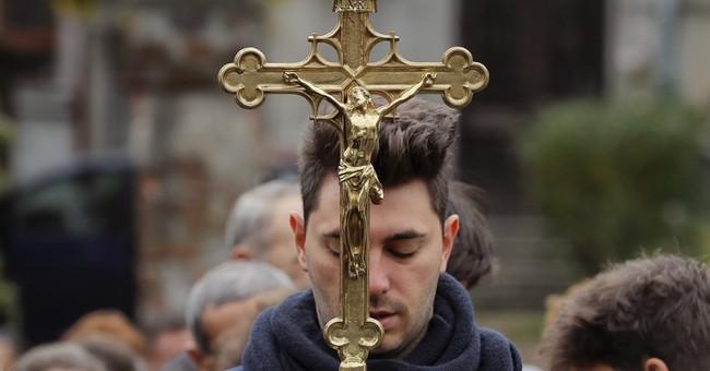 AP PHOTOS: Saint festival shows Orthodox strength in Romania