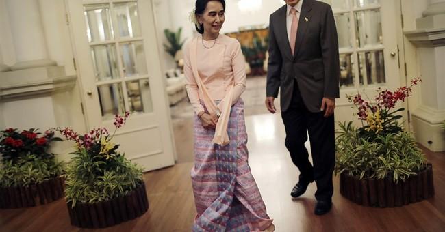 Myanmar's Suu Kyi says national reconciliation 'unavoidable'
