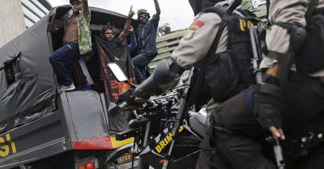 West Papuans protest against Indonesian rule