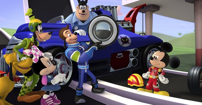 Mickey Mouse hits the road with NASCAR stars in new series