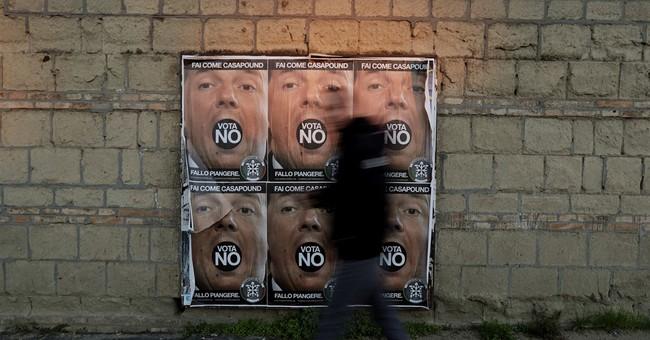 Italian Premier Renzi risks his job in vote over reforms