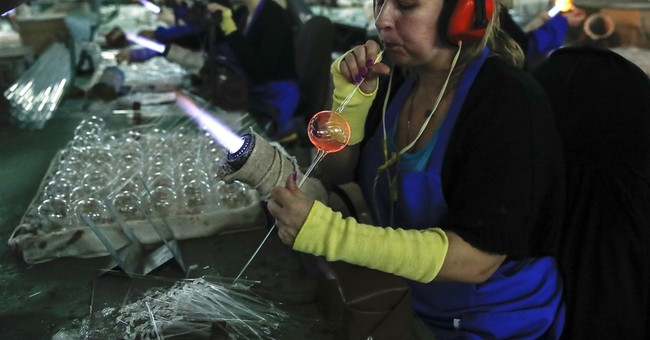 AP PHOTOS: Russia's Christmas decorations factory