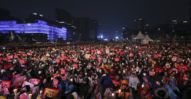 S. Koreans to march for 6th weekend calling for Park ouster