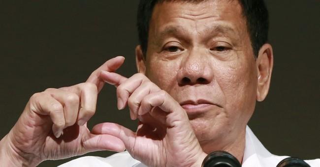 Philippines President Duterte phones Trump