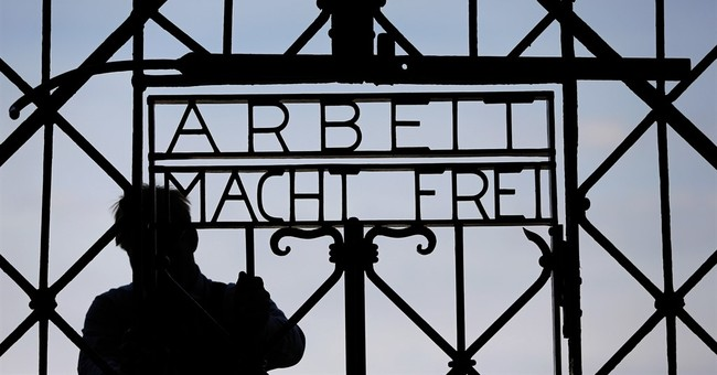 Stolen Nazi concentration camp gate believed found in Norway