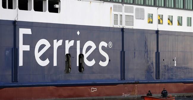 Greek ferries tied up in port at start of 48-hour strike