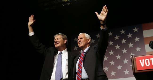 The Latest: Pence rallies for Senate contender in Louisiana