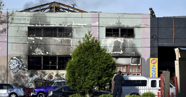 Warehouse gutted by blaze was home to Bohemian art space