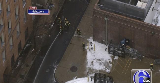Foam fills Philadelphia streets after substation incident
