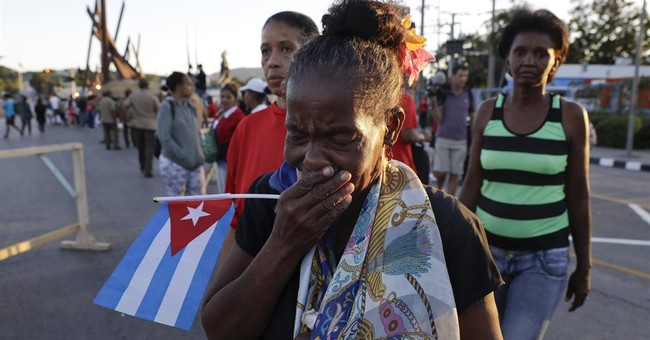 The Latest: No tears shed by Miami exiles for Castro funeral