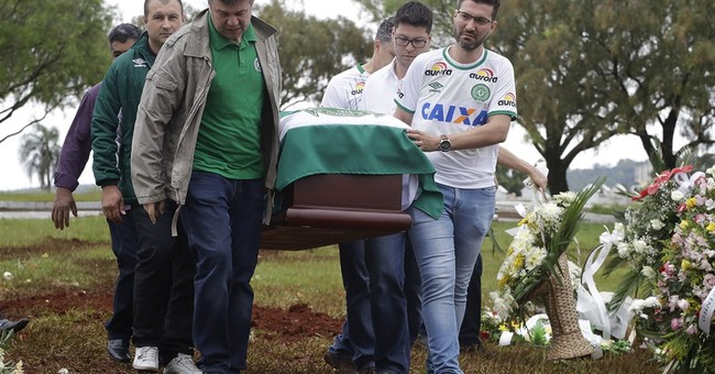 Chapeco buries soccer club president as fans look to future